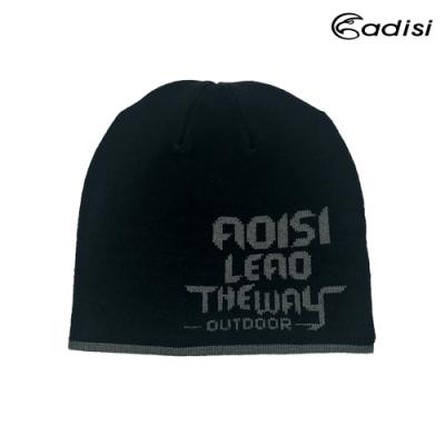 ADISI 針織保暖帽 AS15247【黑灰】