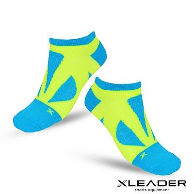 LEADER ST-05 8XU繃帶 加固避震氣墊除臭襪 踝襪 男款 綠黃 - 急