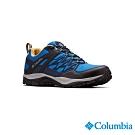 Columbia 哥倫比亞 男款-Outdry 防水健走鞋-藍色