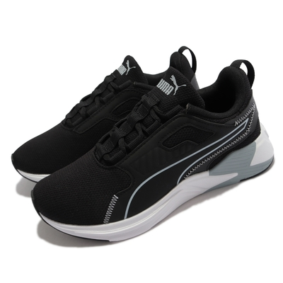 Puma 訓練鞋 Disperse XT FTR 女鞋 透氣網布 涼爽 緩震 健身 重訓 黑 藍 195251-03