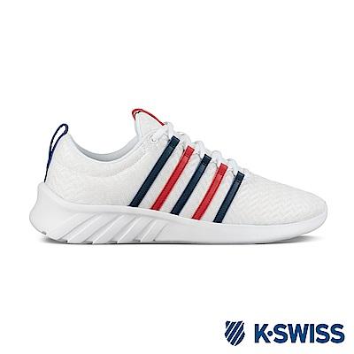 K-SWISS Aeronaut Classic休閒運動鞋-女-白/藍/紅
