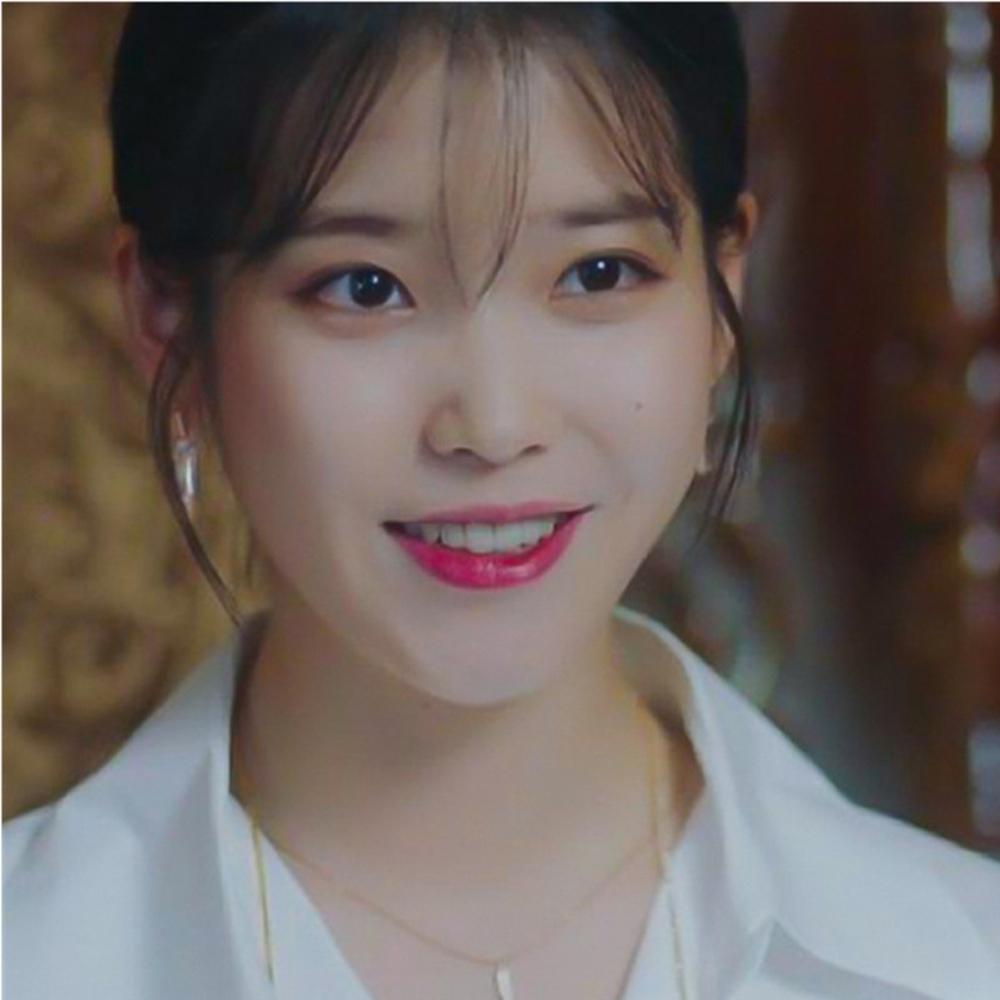 梨花HaNA 韓國925銀IU德魯納酒店修飾臉型方鑽長耳環