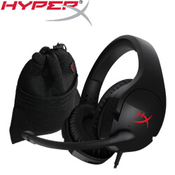 HyperX Cloud Stinger 電競耳機+HyperX Cloud網狀收納袋