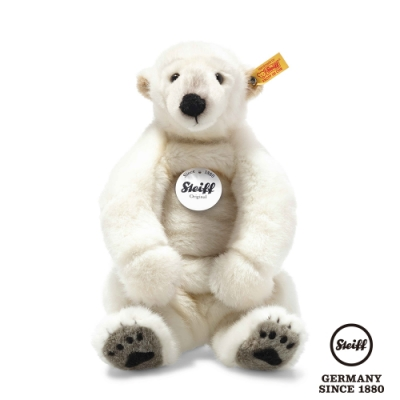 STEIFF德國金耳釦泰迪熊  Nanouk Polar Bear  北極熊 33cm