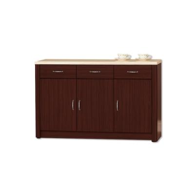 Boden-文斯4尺石面碗盤收納餐櫃(下座)-121x43x82cm