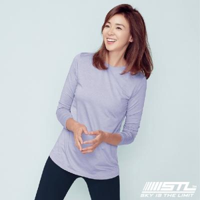 STL Essence Long Sleeve 韓國運動機能長袖上衣 本質薰衣草紫