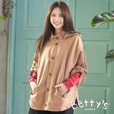 betty's貝蒂思 都會時尚斗篷外套(卡其)