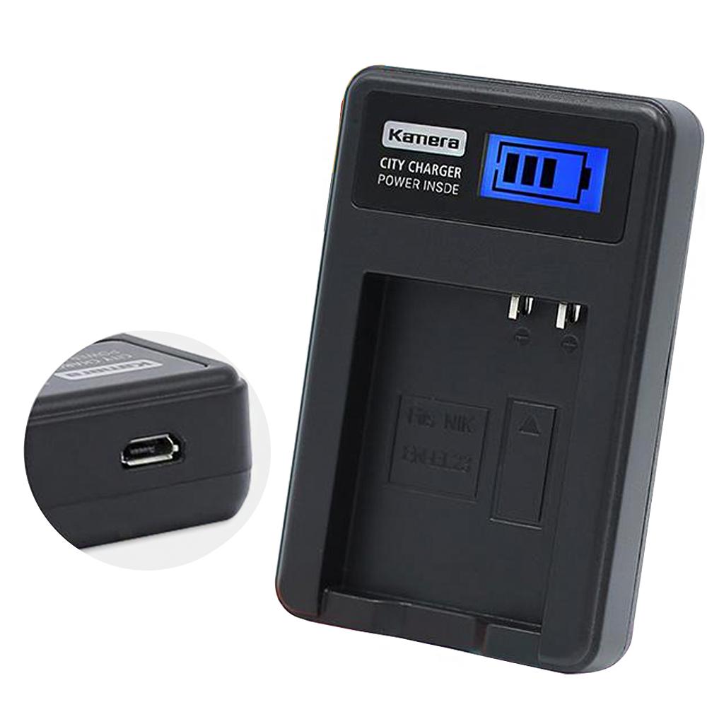 Kamera佳美能 液晶顯示充電器 for NIKON EN-EL23