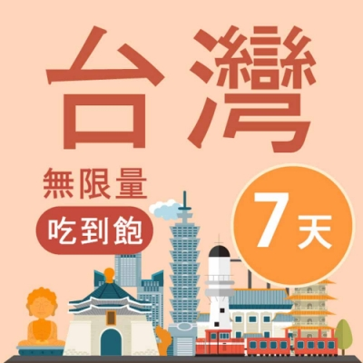 【Smart Go】台灣 網卡 7日 4G 不降速 上網 吃到飽 上網 SIM卡