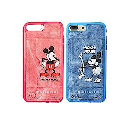 Disney迪士尼 米奇90週年牛仔立架殼套 iPhone