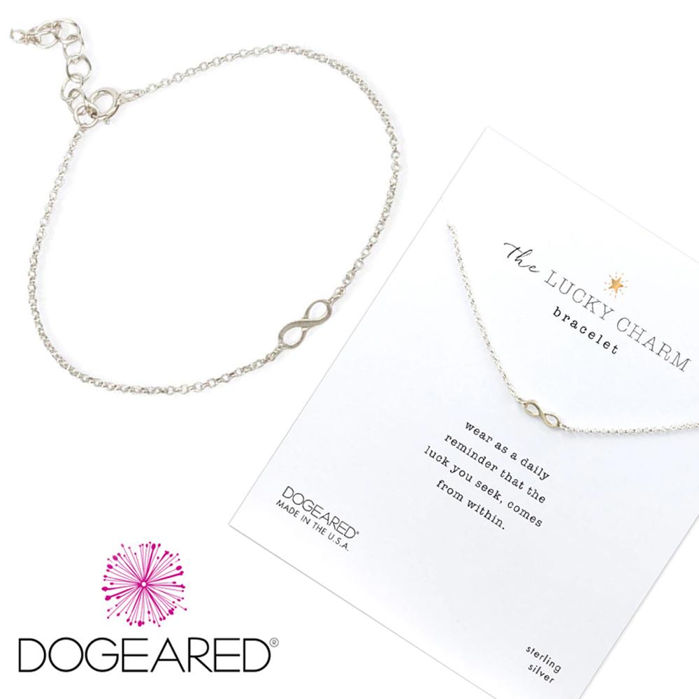 Dogeared 銀色愛無限手鍊 925純銀 許願手鍊 Infinite Love
