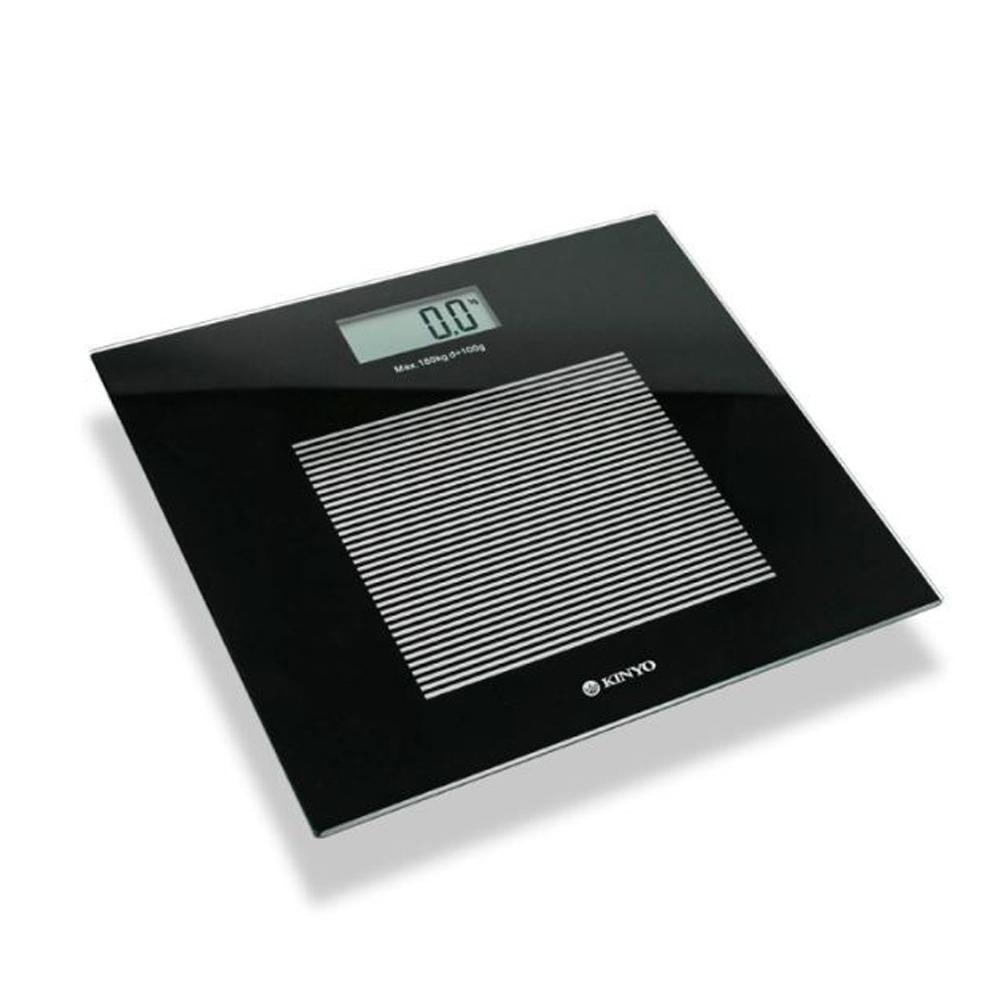KINYO 黑晶電子體重計(DS-6583)