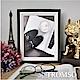TROMSO 巴黎撞色木紋6x8相框-黑 product thumbnail 1