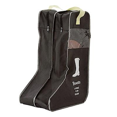 【E-dot】韓版分離式透視可提防塵靴子收納袋(長款)