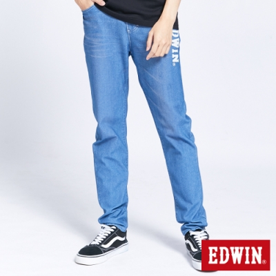 EDWIN JERSEYS 迦績 EJ6 透氣運動AB褲-男-拔淺藍