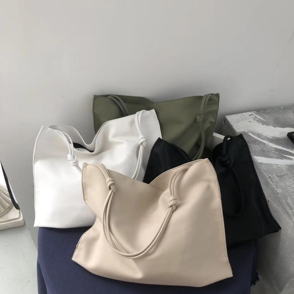 CHARMII CHIC 軟皮簡約百搭購物袋