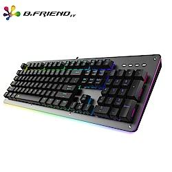 B.Friend GK6A賽鋼軸體多彩發光遊戲鍵盤