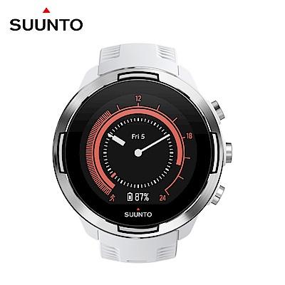 SUUNTO 9 Baro 超長電池續航力及氣壓式高度的多項目運動GPS腕錶 (時尚白)