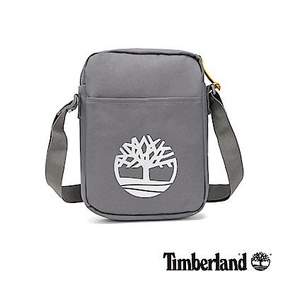 Timberland 中性中灰色大樹標誌印花側背包|A1CV7