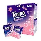 Tempo紙手帕-櫻花味限量版(7抽x18包x20組/箱)