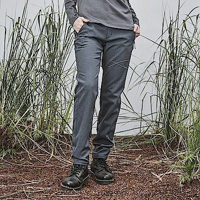 ADISI 女Softshell超撥水高透氣保暖長褲AP1821070【深藍麻灰】