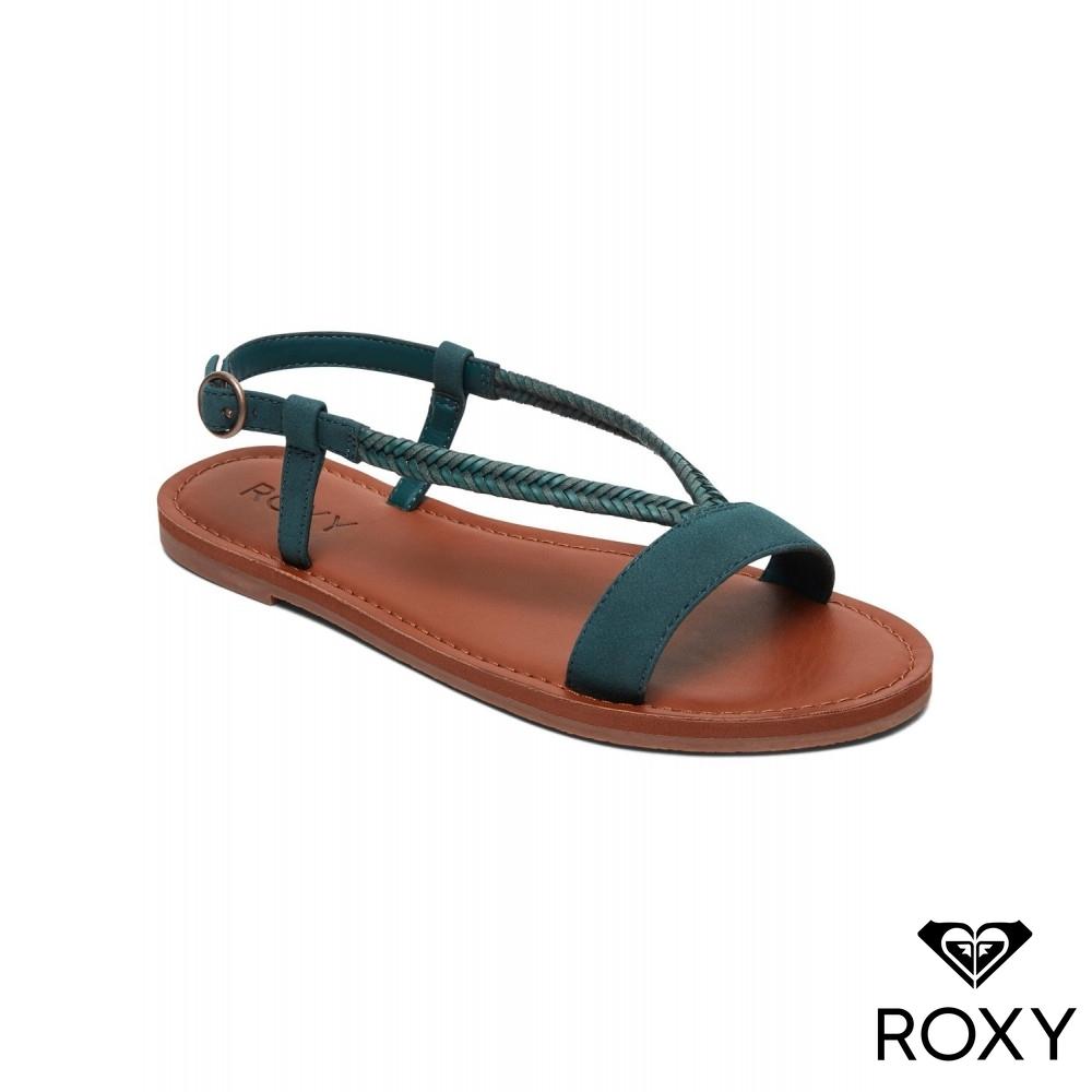 【ROXY】KITTY 涼鞋 藍綠