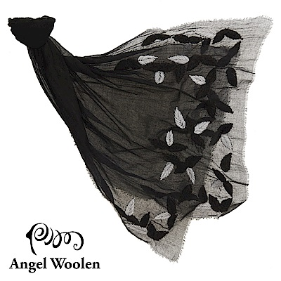 Angel Woolen羽翼-印度手工刺繡羊毛披肩