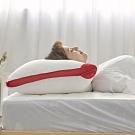 BUHO布歐 3D透氣可水洗抗菌纖維枕(1入)