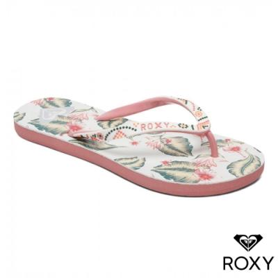 【ROXY】SANDEE V 夾腳拖鞋 粉紅