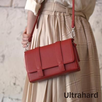 Ultrahard Charisma皮革斜背包(紅)