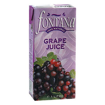 Fontana 紅葡萄汁(1Lx12入)