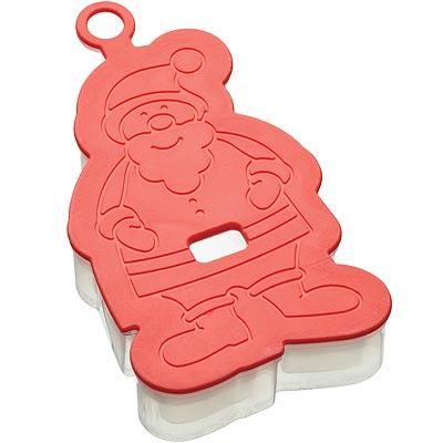 《KitchenCraft》3D餅乾切模(聖誕老人)