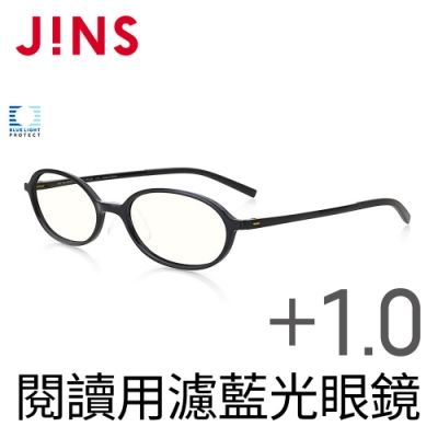 JINS 閱讀用濾藍光老花眼鏡+1.00 (AFRD18A049)