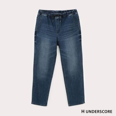 Hang Ten-男裝-環保再生紗-RELAXED FIT寬鬆丹寧褲-深藍