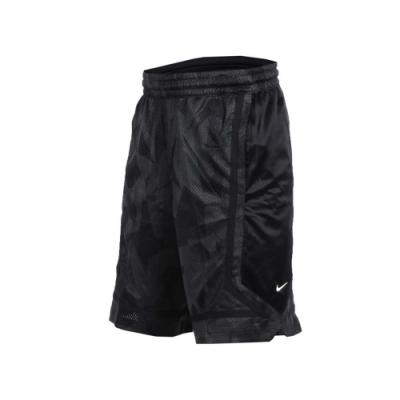 NIKE 男籃球短褲-五分褲 訓練 籃球 黑白