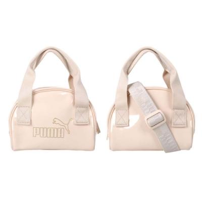 PUMA CORE UP迷你手提包-側背包 肩背包 手拿包 隨身包 07821602 奶茶金