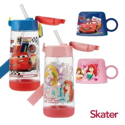 Skater PET吸管水壺+杯蓋