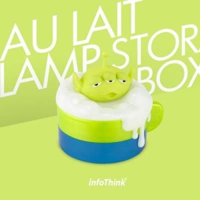 InfoThink 迪士尼系列泡泡歐蕾小夜燈收納盒-三眼怪