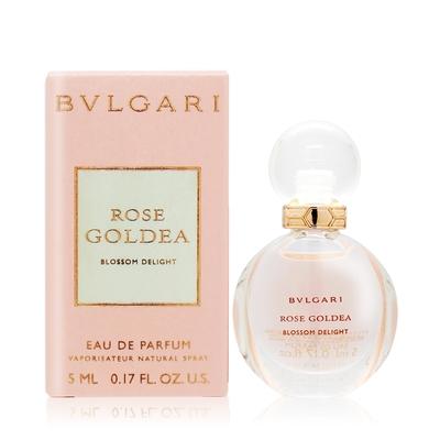 BVLGARI 寶格麗 歡沁玫香女性淡香精  Rose Goldea Blossom Delight 5ml EDP-香水公司貨