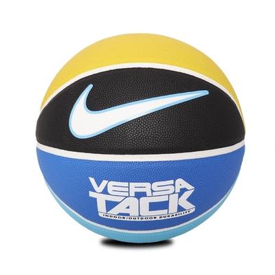 Nike 籃球 Versa Tack 8P Basketball 7號球 室內外 橡膠材質 耐磨 水泥地 藍 黃 黑 N000116403107