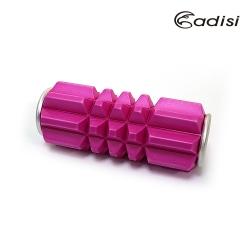 ADISI mini瑜珈按摩滾筒AS17109 桃紅(按摩,伸展,放鬆)