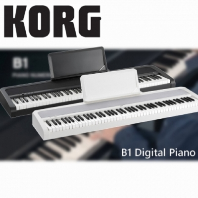KORG B1 Digital Piano / 88鍵電鋼琴/ 黑色單琴/  公司貨保固