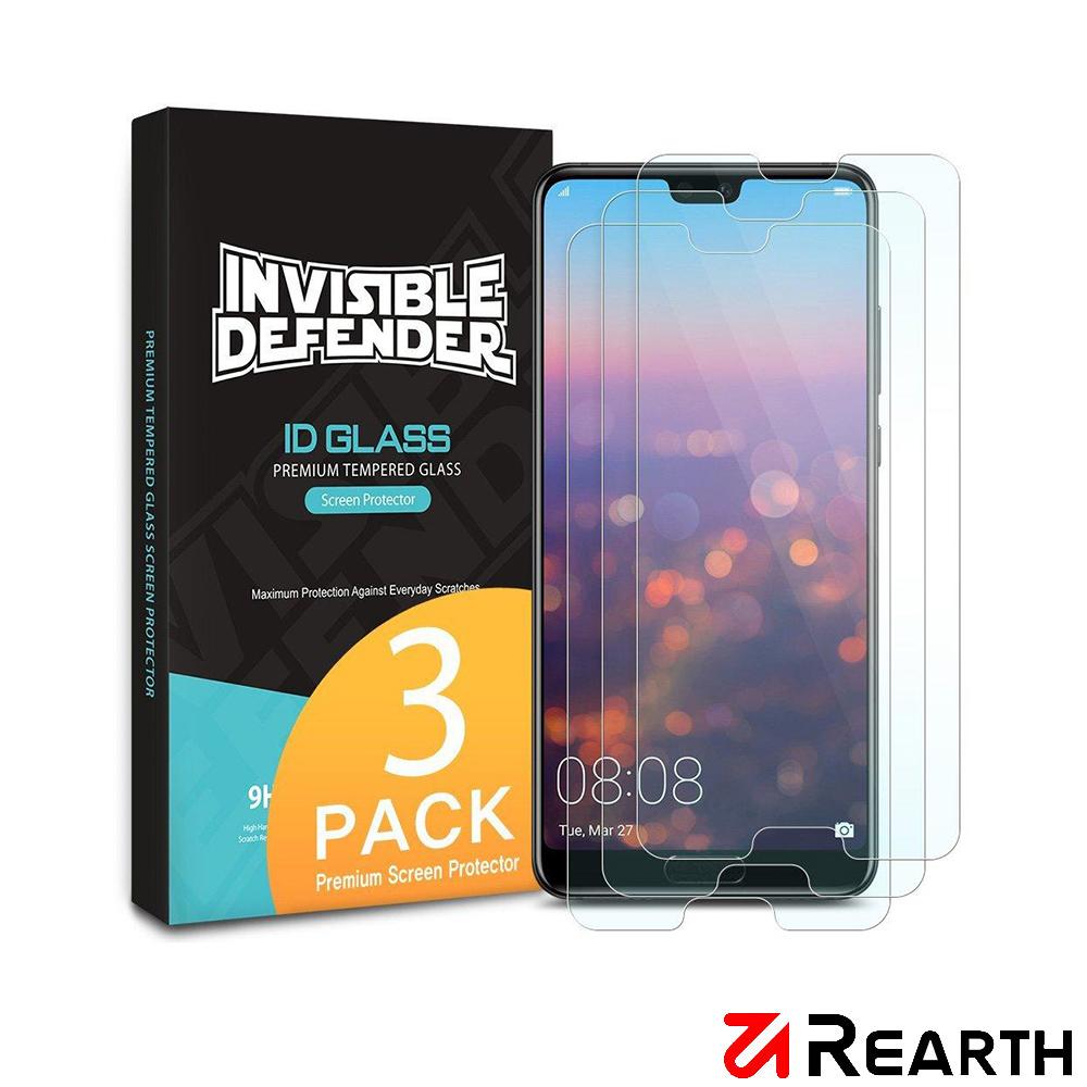 Rearth 華為 P20 Pro(0.33mm) 強化玻璃螢幕保護貼(三片裝)