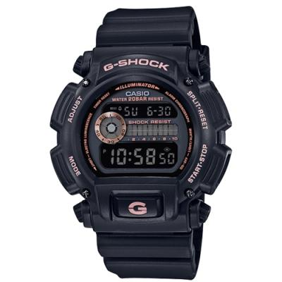 CASIO 卡西歐G-SHOCK耐衝擊構造重新復刻手錶(DW-9052GBX-1A4)