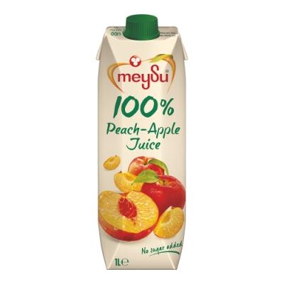 meysu美愫 100%水蜜桃蘋果汁(1000ml)-吳鳳推薦