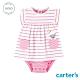 【Carter's】 綿羊橫紋粉色洋裝 (台灣總代理) product thumbnail 1