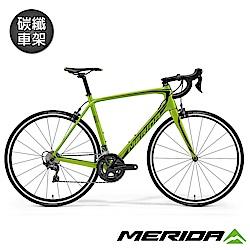 (無卡分期-12期)《MERIDA》全能型碳纖跑車 SCULTURA 斯特拉6000 綠2018