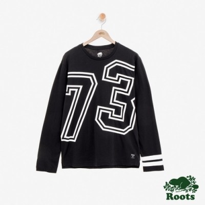 ROOTS男裝  原創73長袖T恤-黑