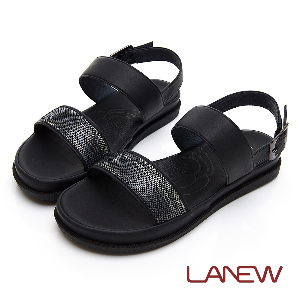 LA NEW SO Lite 彈力減壓 平底涼鞋(女225063736)