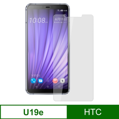 【YADI】HTC U19e/6吋>鋼化玻璃膜>二次強化>AGC>疏水疏油